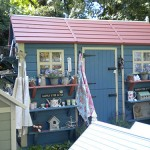 Blue Timber Shed Shop