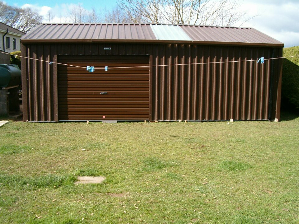 Domestic storage garden bike shed faulkner sheds for Garden shed large