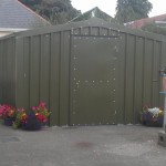 Garden Shed Large Green