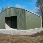 Hay/Machinery Shed